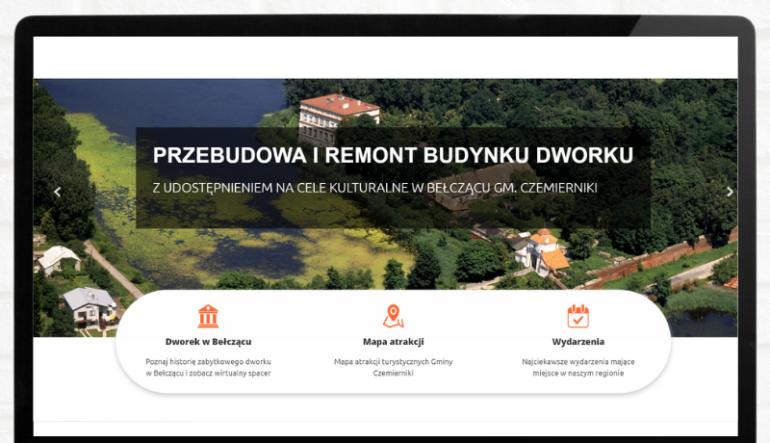 Dworek w Bełczącu - portal promocyjny