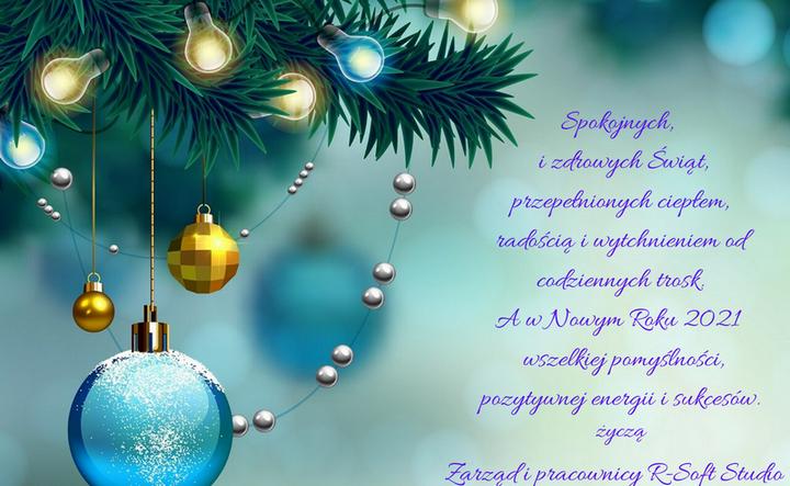 Życzenia z okazji świąt oraz nowego roku